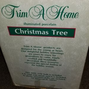 Other - Vintage ceramic Christmas tree